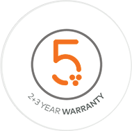 5 years warranty zumex